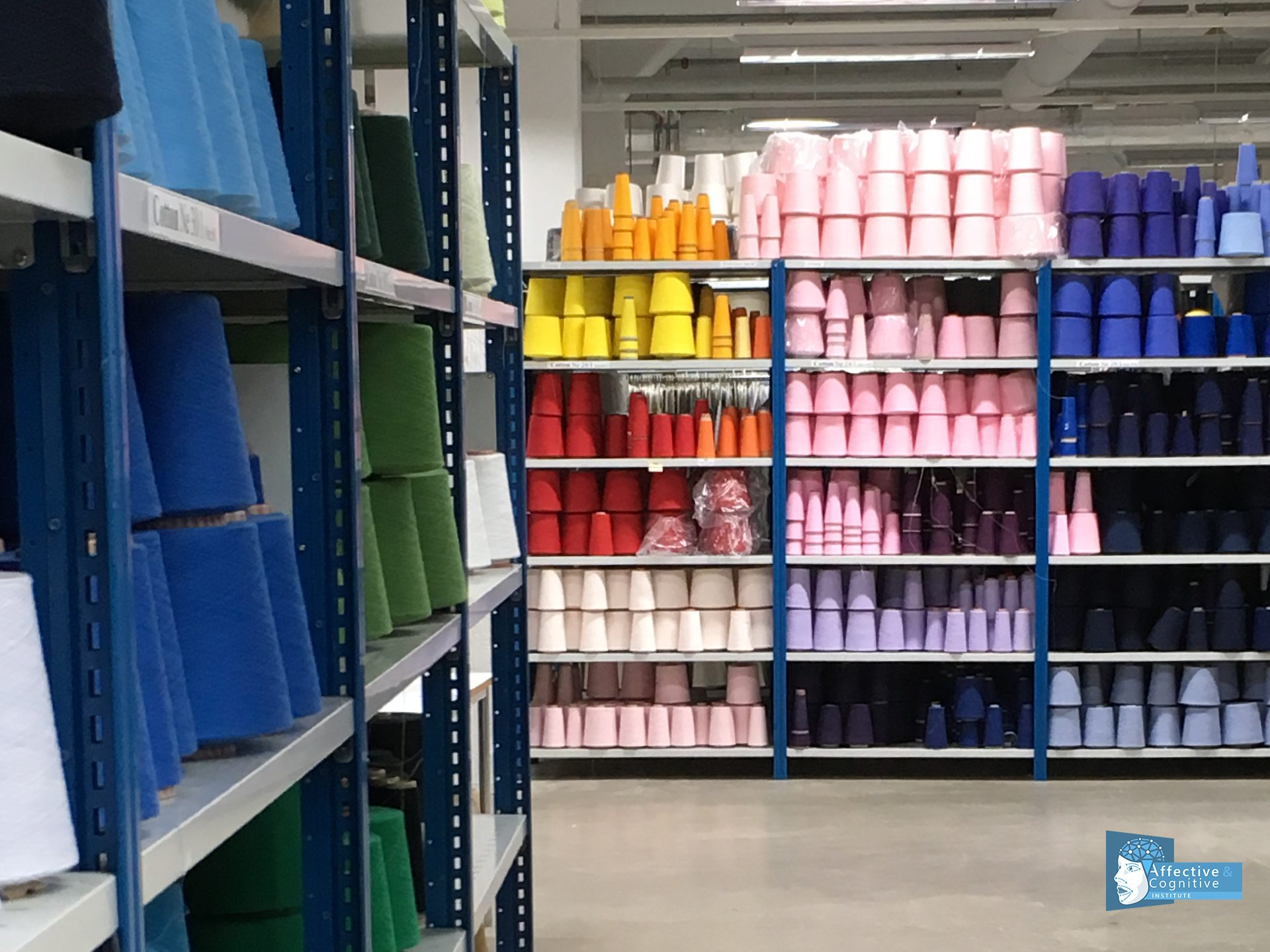 Stock of different garn in the Textile Fashion Centre
