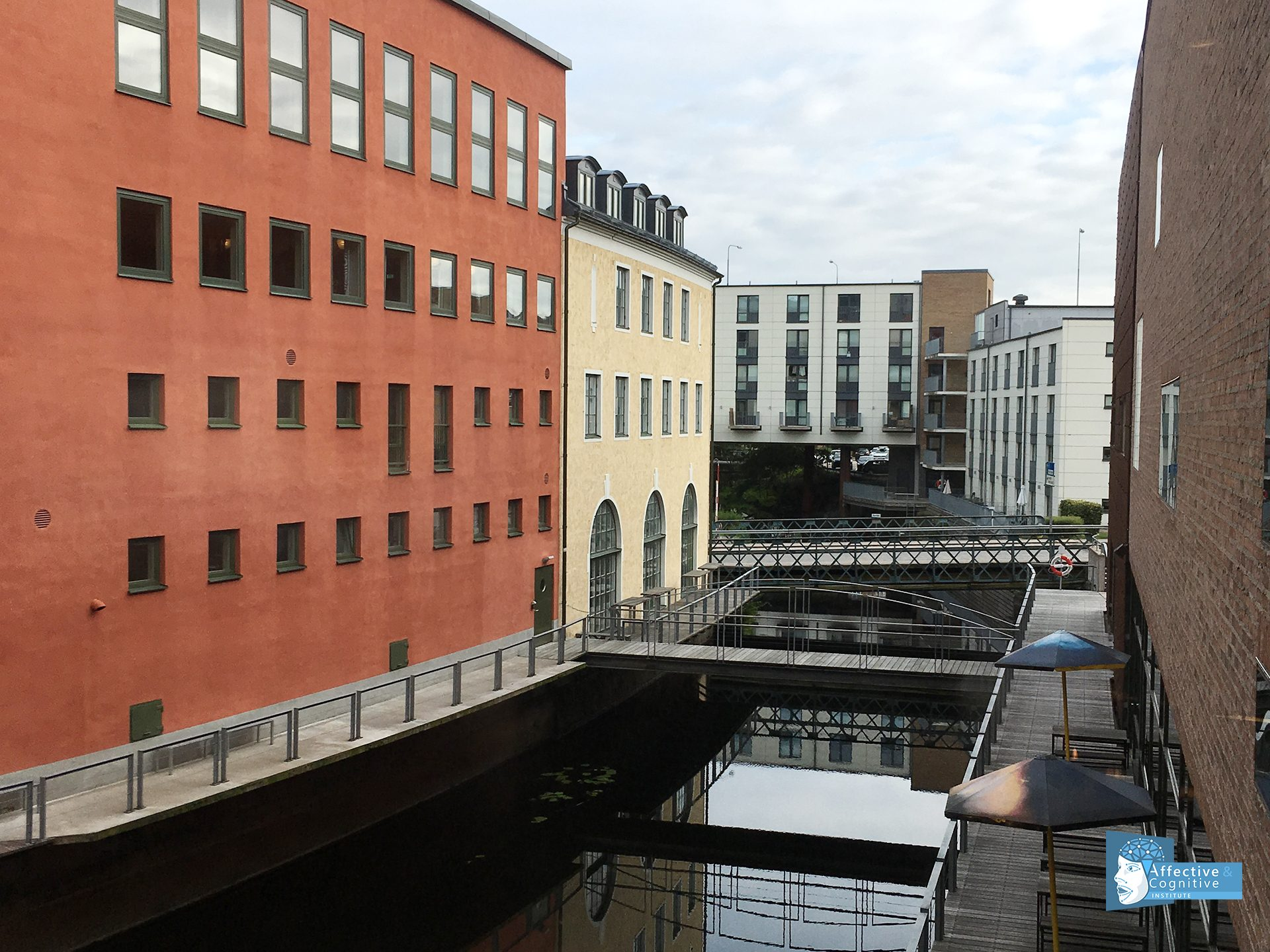 City scene in Borås