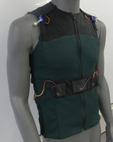 Garment Vest Prototype of SUITCEYES