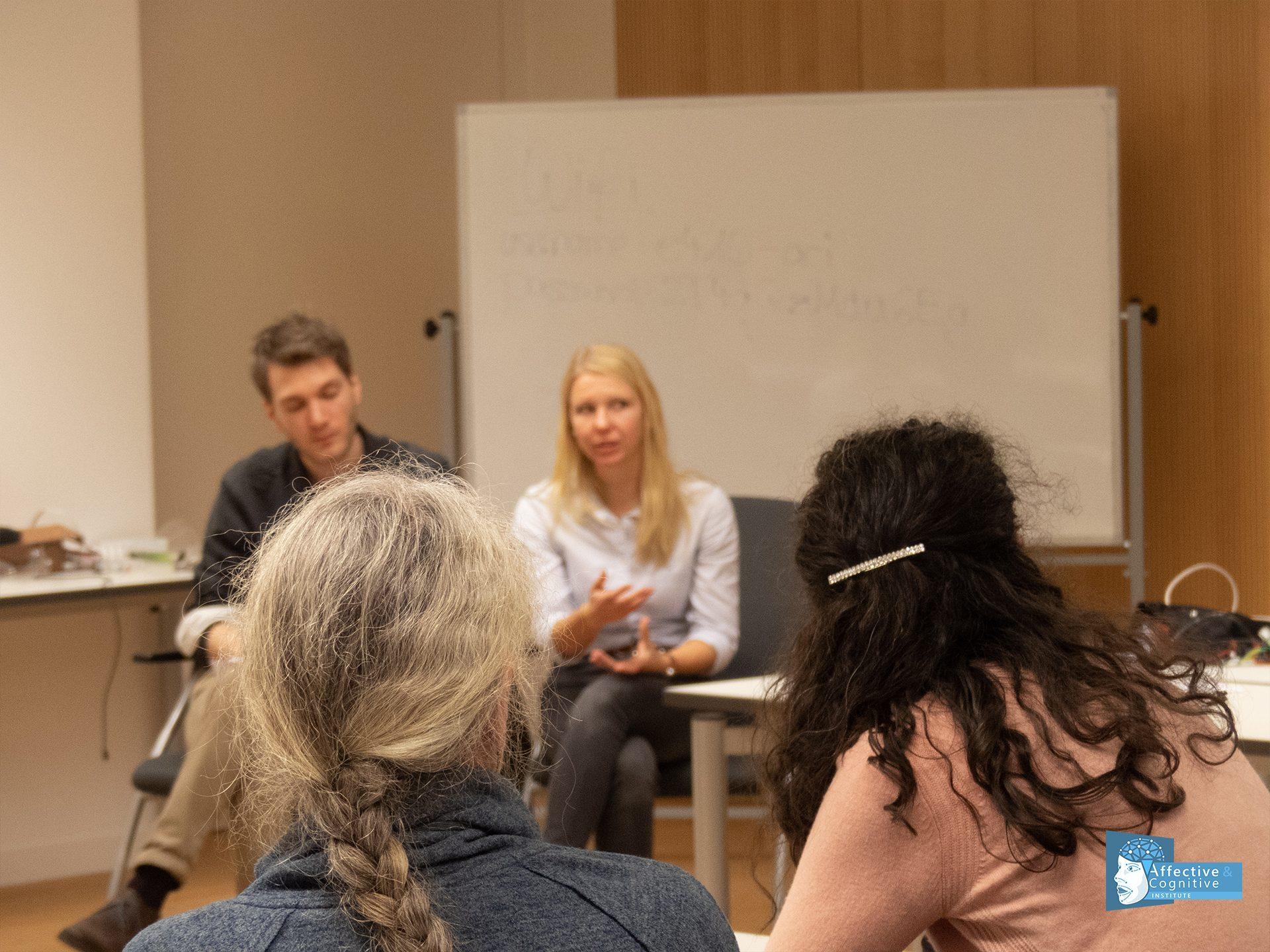 image of a consortium discussion